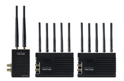 TERADEK Bolt XT 3000 Wireless SDI/HDMI Transmitter/2x Receiver Deluxe Kit (AB or V Mount)
