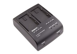 SWIT S-3602D 2-ch Panasonic VW-VBD and CGA series Charger and Adaptor
