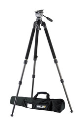 Miller 1643 DS20 Solo 75-2 2-Stage Alloy Tripod System