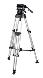 Miller 2070 Skyline 70 HD 1-Stage Alloy Tripod System with Mid Level Spreader