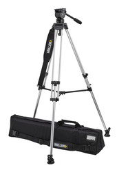 Miller 3015 Air LW Alloy Tripod System with Above Ground Spreader