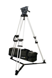 Miller 3034 ArrowX 3 Sprinter II 1-Stage Alloy Tripod System with ground spreader