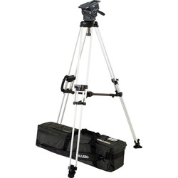 Miller 3035 ArrowX 3 Sprinter II 1-Stage Alloy Tripod System with Mid Level Spreader