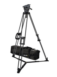 Miller 3092 ArrowX 5 Sprinter II 1-Stage Alloy Tripod System with Ground Spreader