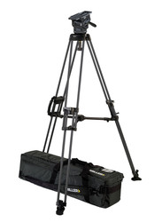 Miller 3093 ArrowX 5 Sprinter II 1-Stage Alloy Tripod System with Mid Level Spreader