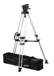 Miller 3156 ArrowX 7 Sprinter II 1-Stage Alloy Tripod System with Mid Level Spreader