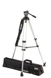 Miller 828 DS10 LW Alloy Tripod System with Above Ground Spreader