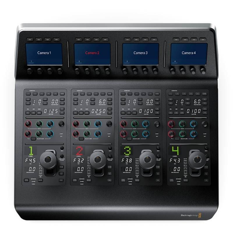 Blackmagic Atem Camera Control Panel Videoexpert Eu