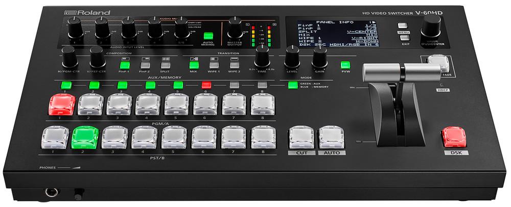 RolandV-60HDマルチフォーマットHDビデオスイッチャー-VideoExpert.eu