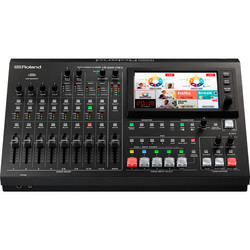 Roland VR-50HD MK II Multi-Format AV Mixer with USB 3.0 Streaming