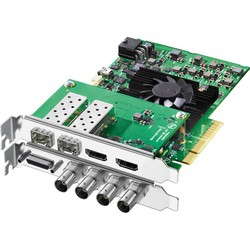 Blackmagic Decklink input / output cards