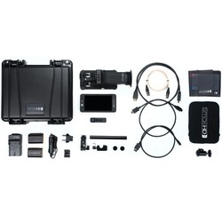 SmallHD 502 HDMI/SDI On-Camera Monitor and Sidefinder Production bundle