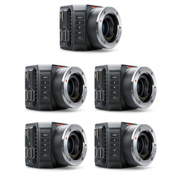 5x Blackmagic Micro Studio Camera 4K bundle