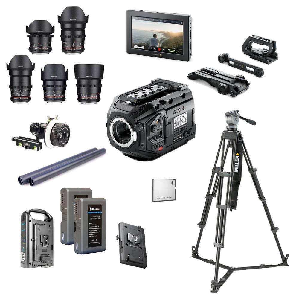 Blackmagic Ursa Mini Pro 4 6k G2 Plus Bundle Videoexpert Eu