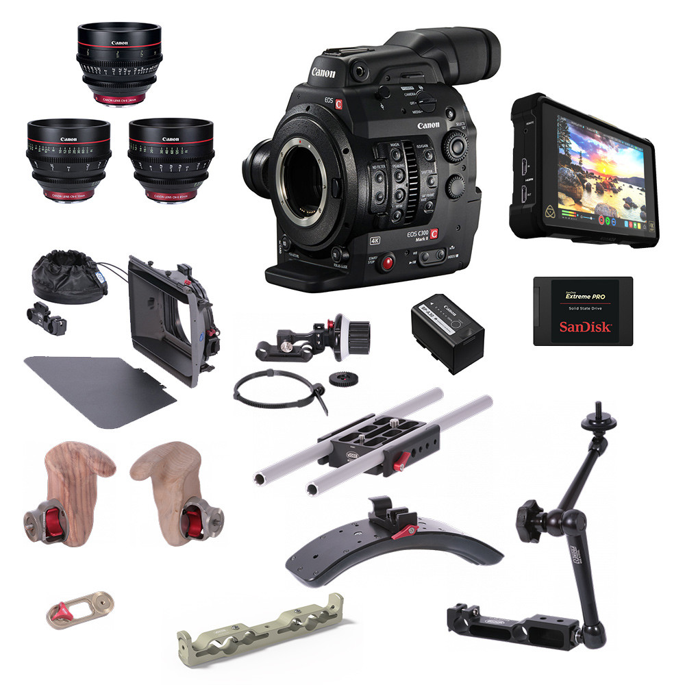 Camera Bundle Canon C300 Mark II - PRO
