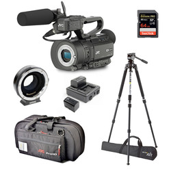 Camera Bundle JVC GY-LS300CHE - BASIC EF (for Canon EF Lenses)