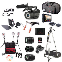Camera Bundle JVC GY-LS300CHE - PRO