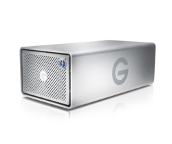 G-Technology G-RAID Removable 8TB Thunderbolt 3 & USB-C 3.1 G2 Silver