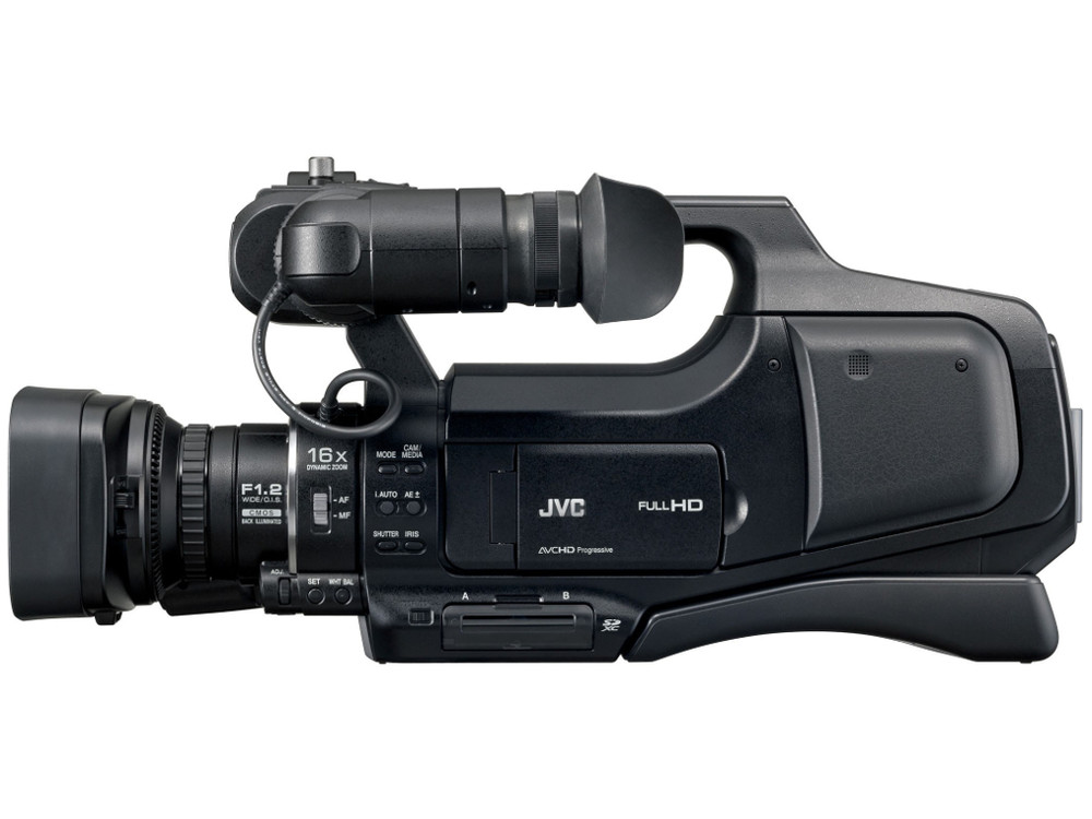 jvc gy hm70e full hd shoulder mounted events camcorder with 16x lens rh videoexpert eu JVC Camcorder DVD JVC Movie Camera