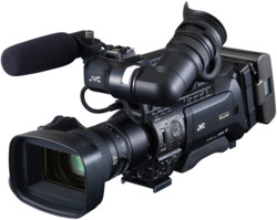 JVC GY-HM850E ProHD ENG Shoulder Camcorder + Fujinon 20x Zoom Lens