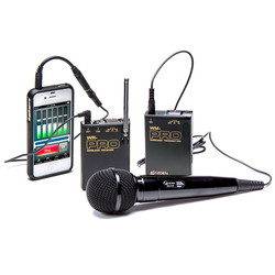 Azden WMS-PRO+i VHF Wireless Microphone System for Smartphones & Tablets