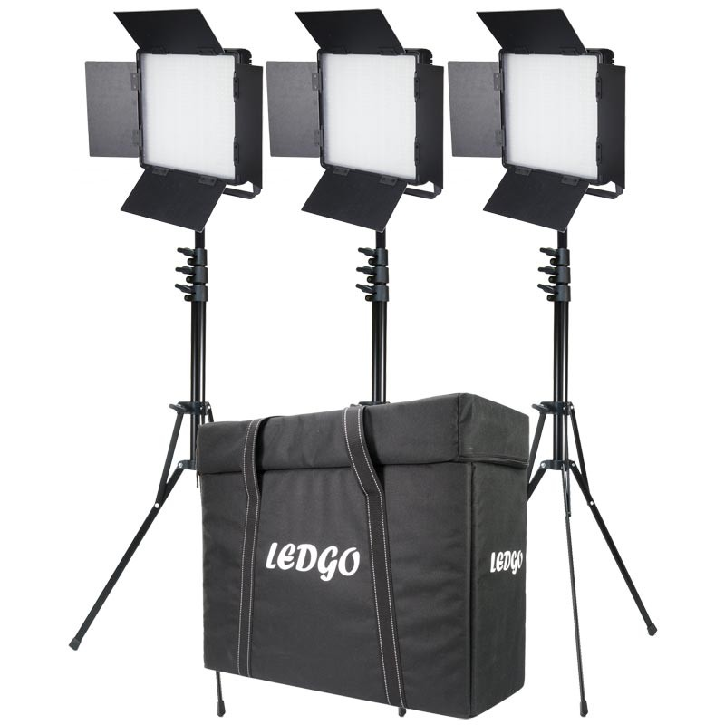 Ledgo 3x 600 Bi Colour Lighting Kit