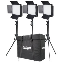 LEDGO 3x 900 Bi-Colour Lighting Kit