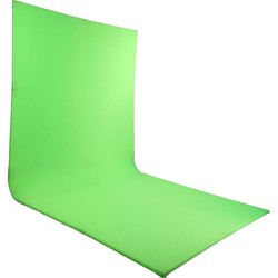 LEDGO Self standing, L-Shaped curved green screen