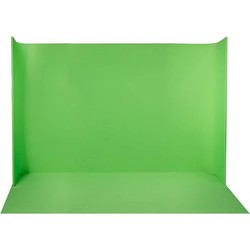 LEDGO Self standing, U-Shaped curved green screen