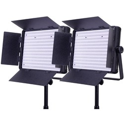 LEDGO 2x 1200 Bi-colour Lighting Kit