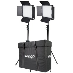 LEDGO 2x 600 Bi-Colour Lighting Kit