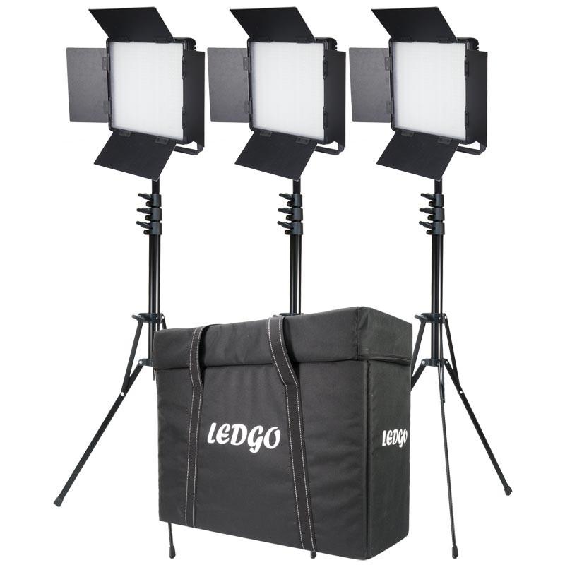 Ledgo 3x 600 Daylight Location Lighting
