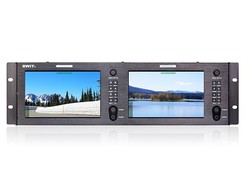 SWIT M-1073H - Dual 7-inch FHD Rack LCD Monitor
