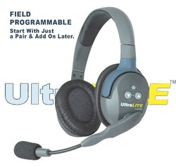 Eartec UltraLITE UL4S HD Kit - 4x Single Ear Headphones, case, charger